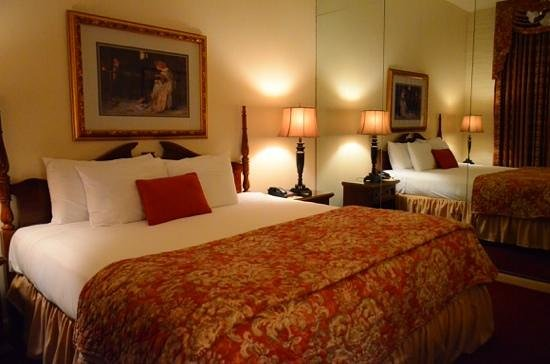 Le Richelieu in the French Quarter : king bed room