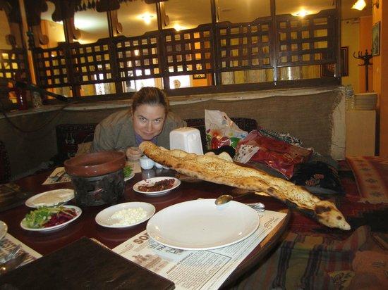 Zelve Restaurant: Тот самый вкуснющий хлеб