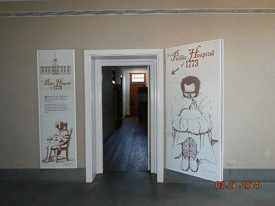 Public Hospital Museum : Entrance to Hospital