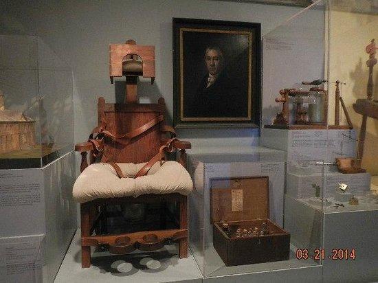 Public Hospital Museum : restriction device
