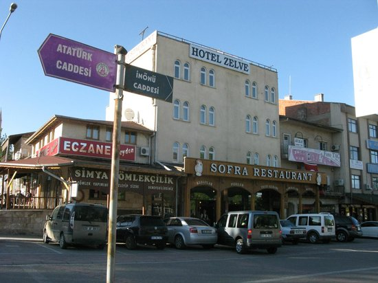 Zelve Restaurant: Ресторан