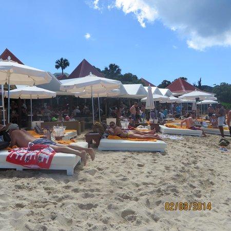 St. Jean Beach: Nikki's Beach Restaurant