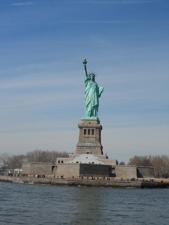 Gray Line New York Sightseeing: Statue of Liberty from the tour boat