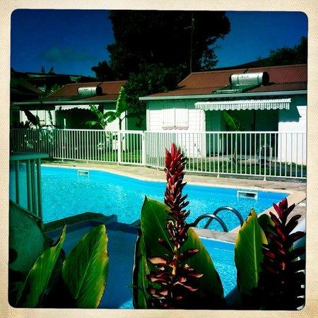 La Berceuse Creole: La piscine