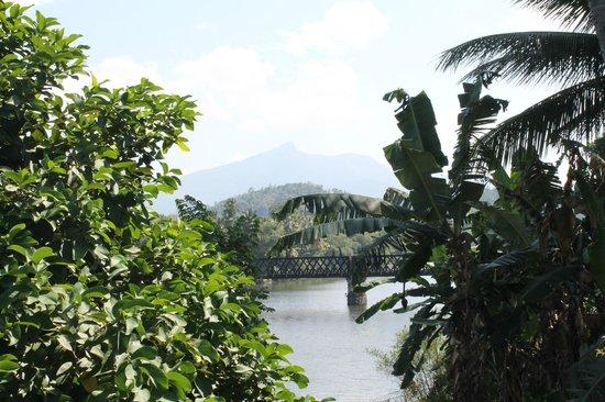 Mahaweli Reach Hotel : view from hotel