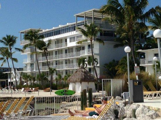 Postcard Inn Beach Resort & Marina: One building from Pool area