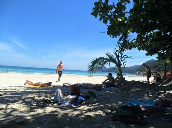 Lopes Mendes Beach : sombra