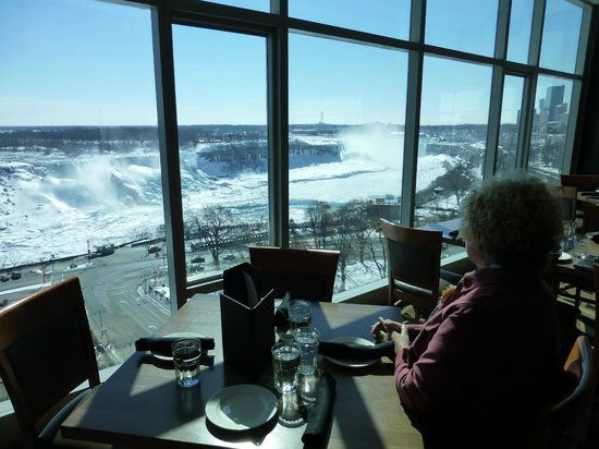 Sheraton On The Falls View From Hotels Buffet Dining Room Highly Recommended