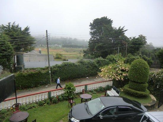 Single Tree Hotel : вид с балкона