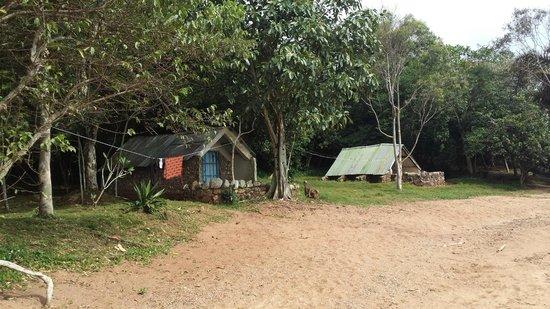 Banda Island: De to hyttene
