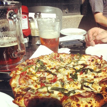 The Brewery at Lake Tahoe: Bad A$$ pizza