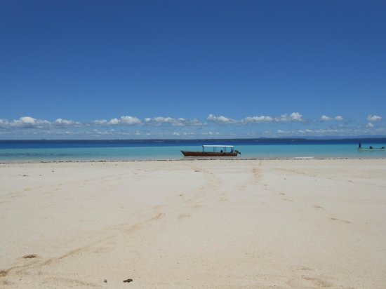 Mkoma Bay Tented Lodge: Picnic on a deserted island