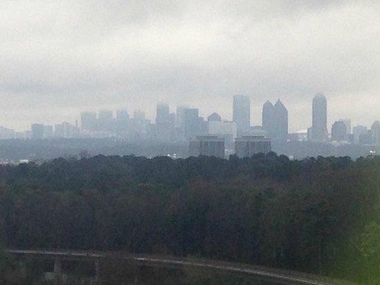 JW Marriott Atlanta Buckhead: View of Atlanta from 17th floor