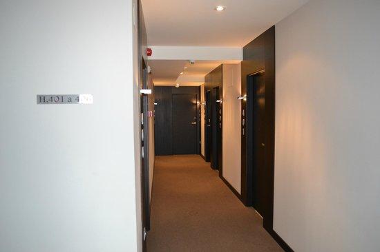 Hotel Paloma: distribuidor de habitaciones