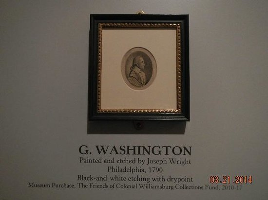 Abby Aldrich Rockefeller Folk Art Museum: rare George Washington portrait