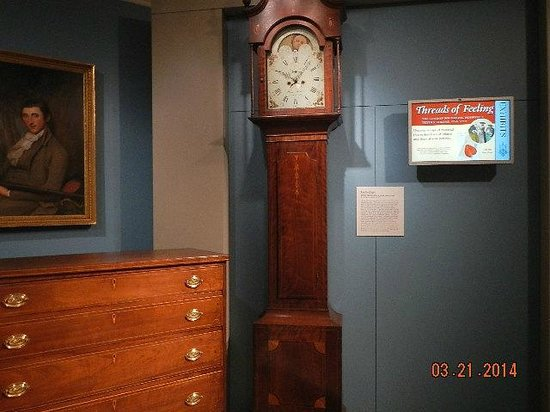 Abby Aldrich Rockefeller Folk Art Museum: grandfather clock