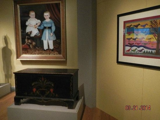 Abby Aldrich Rockefeller Folk Art Museum: paintings and furniture