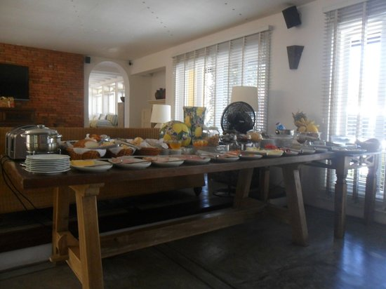 La Chimere : desayuno