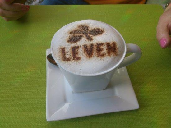 Leven's: cappuccino