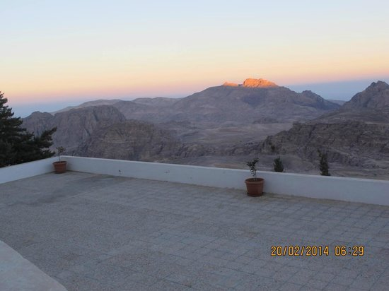 Petra Panorama Hotel : Morning view 2