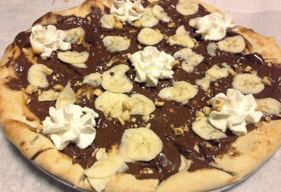 La Pineta: Pizza dolce