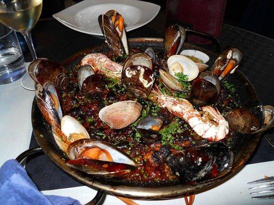 Restaurant La Sirena: Arroz mixto para chuparse los dedos