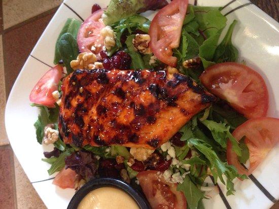 Zanto Suffield: Grilled salmon