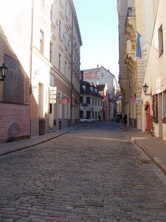 Old City Riga (Vecriga): Улочка в Старом городе
