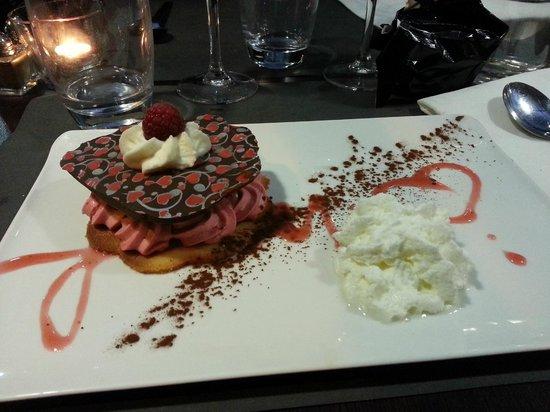 Au Bout Du Quai : dessert de st valentin 2014