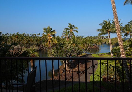 Mauna Lani Terrace Condominiums: View of Fishponds from great room lanai.