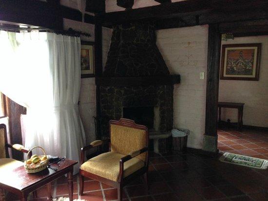 Samari Spa Resort: Chimenea de la habitación