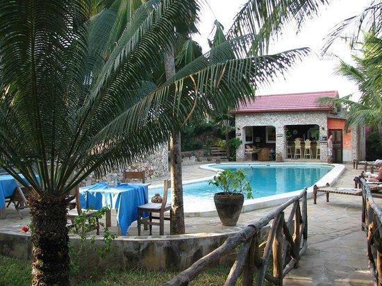 Tembo Village Resort Watamu: Beautiful and quiet pool