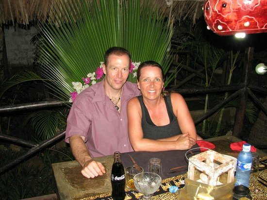 Tembo Village Resort Watamu: Last dinner