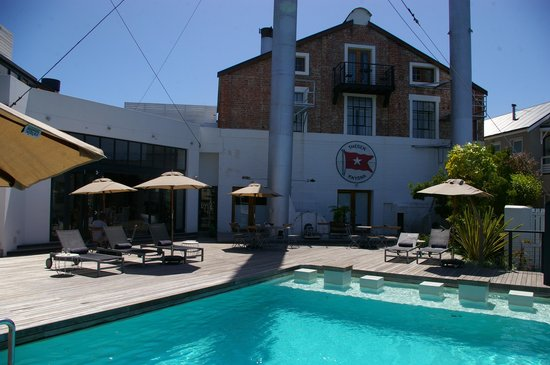 The Turbine Boutique Hotel and Spa : Hotel visto da piscina