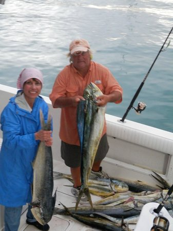 Local Flavor Day Charters: happy fisherman/woman!