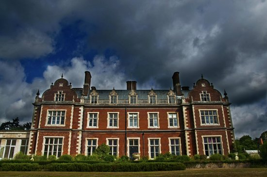Lynford Hall: Imposing south facing facade