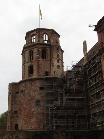 Schloss Heidelberg: torre del Castello