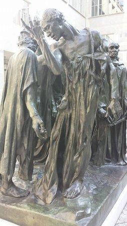 Kunstmuseum Basel: Burghers of Calais - Rodin