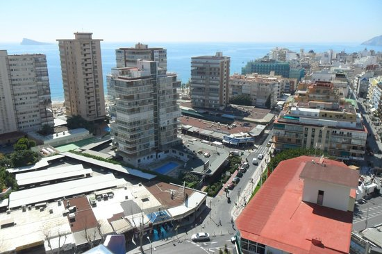 Hotel Madeira Centro: View from our room.