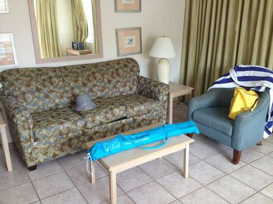 Enchanted Isle Resort: Гостиная