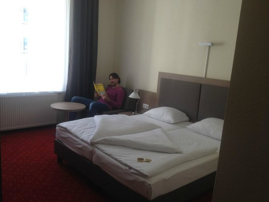 Novum Hotel Holstenwall Hamburg Neustadt: Только приехали