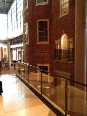 Lancaster Marriott at Penn Square: Historic Building (encased in Lobby)