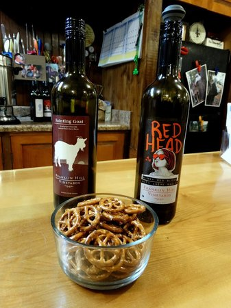 Franklin Hill Vineyards: My two favorite wines!