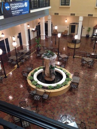 DoubleTree Suites by Hilton Hotel Lexington: From 2nd floor king suite