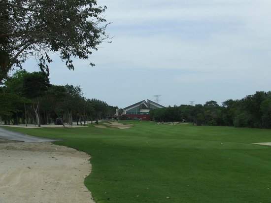 El Camaleon Mayakoba Golf Club: 9th Hole