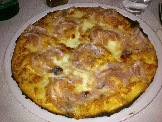 Al Vicinato: Pizza stracchino e pancetta