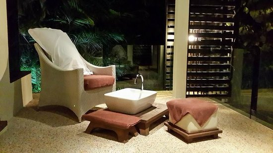 Gaya Island Resort: Foot Scrub
