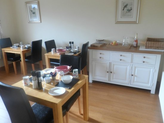 Burtonstown House B&B: Dining room