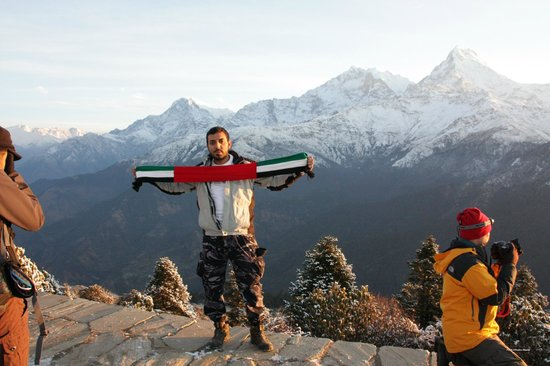 UAE at Poon Hill, with Love