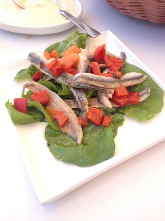 Karatello Restaurant: Marinated anchovies
